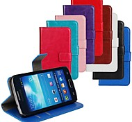 Horse Grain PU Leather Full Body Cover with Stand and Case for Samsung Galaxy Express 2 G3815