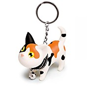 Lovely Silicone Small Pussycat KeyChain