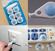 tomada plugue ponto tampas de proteção do bebê travas de segurança para crianças