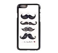 Moustache Pattern Aluminum Hard Case for iPhone 6