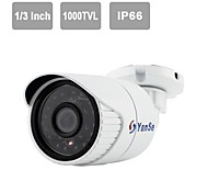 "YanSe® 1/3""CMOS IR Camera 24-LED 1000TVL Waterproof CCTV Vision Security Outdoor Cameras 721CFW"