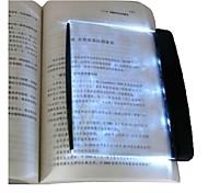 Nachtsicht Lesen 3 mal Zoom 3-LED-Buchlicht Platte (3 * AAA)