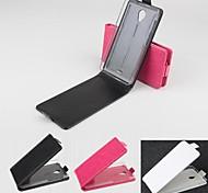 vendita calda cassa di cuoio dell'unità di elaborazione del cuoio di vibrazione 100% per A106 Micromax (colori assortiti)