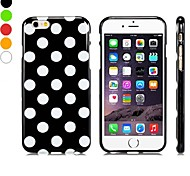 Stylish Polka Dot Pattern Design TPU Soft Case for iPhone 6 (Assorted Colors)