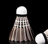12 pcs lydoo 8 bolas duráveis ouro badminton de pena de ganso