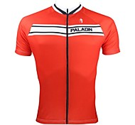 PALADIN Men's Cycling Jerseys / Tops Short Sleeve Bike Spring / Summer Breathable / Ultraviolet Resistant / Quick Dry Red / BlueS / M / L