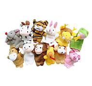 Игрушки Пальцевая кукла Животные Мультяшная тематика Игры и пазлы Для мальчиков Для девочек Текстиль