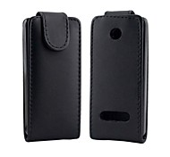 Open Up and Down PU Leather Full Body Case for Nokia 301