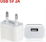 EU Plug USB AC/DC Power Adapter for iPhone 6/5C/5S/5
