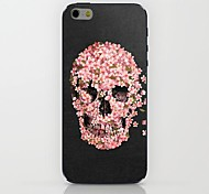 Peach Skull Pattern hard Case for iPhone 6