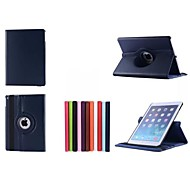 360 Degree Rotating Full Body Leather Case with Stand for iPad Air 2 (Assorted Colors)