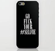 Go Fuck Sie Muster Hülle für das iPhone 6