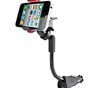 New Universal Vehicles Car Holder For Lenovo P7 iPhone5 Galaxy S3 Nexus HTC Blackberry Smartphones USB Charger