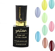 1PCS  UV Color Gel Nail Polish No.73-84 Soak-off(15ml,Assorted Colors)