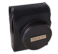 Magical PU Leather Camera Bag for Fujifilm Mini90(Black)