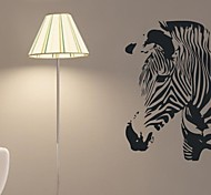 Wall Stickers Wall Decals, Zebra Home Decor Kidsroom Mural PVC Wall Stickers