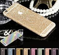 brillantes diseño polvo de diamante película protectora de cuerpo completo para iphone 6 (colores surtidos)