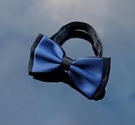 azul marinho dos homens xinclubna®& bowtie preto com banda ajustável (1pc)