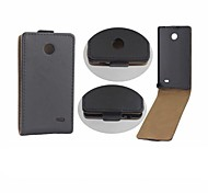 Protective PU Leather Magnetic Vertical Flip Case Cover Shell Protector for Nokia X