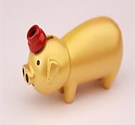 goldene Schwein Persönlichkeit Metallfeuerzeuge