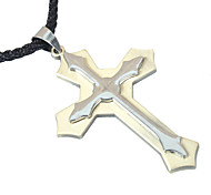 Korean Fashion Cross Pendant Necklace