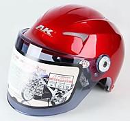 ak ™ material de antivaho 623 abs rresistant-desgaste de la motocicleta medio casco