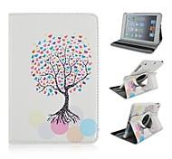 Wunschbaum-Muster PU-Leder Ganzkörper-Case für iPad mini 3, iPad mini 2, iPad mini / mini