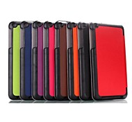 8 Inch Triple Folding Pattern High Quality PU Leather  for Asus MeMO Pad 8(ME181C)(Assorted Colors)