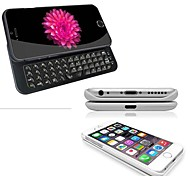 V3.0 Sliding Bluetooth  keyboard Cases for iPhone 6 (Assorted Colors)