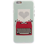 Love Pattern Hard Case for iPhone 6 Plus