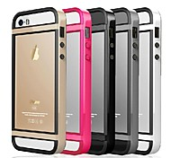 Desoficon TPU frame Back Frame Full Body Case for iPhone 5/5S