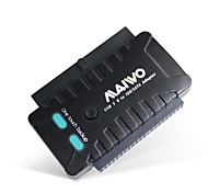 "MAIWO 2.5"" / 3.5"" IDE / SATA HDD and 5.25"" IDE / SATA CD-ROM USB 3.0 to SATA HDD Adapter K132U3IS"