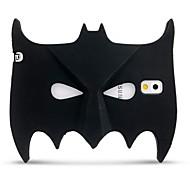3D Black Bat Dark Bat Mask Cartoon Soft Silicone Case Cover for Samsung Galaxy Note 3