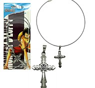 One Piece Trafalgar Law Cross Necklace