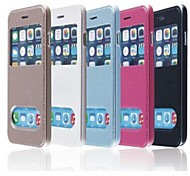 TPU New Smart Luxury Flip Leather Cover for iPhone 6 Plus (Assorted Colors)