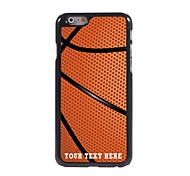 Personalized Phone Case - Basketball Design Metal Case for iPhone 6