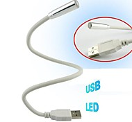 USB Interface Computer Notebook Nightlight Bending(Random Color)