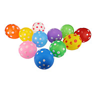 Colorful Dot Thick Round Balloons--Set of 24