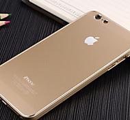 de metal color puro cáscara del teléfono móvil iPhone6 siguiente de 4.7 pulgadas (colores surtidos)