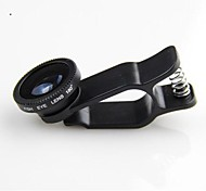 KLW Clip  Fish Eye and Macro Lens for iPhone4/5/6   iPad and Others