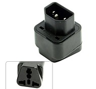 IEC320 C14 C13 Socket to USA Europe UK Australian All in One Combo Power Adapter