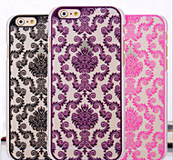 Toophone® JOYLAND Hollow Out Pattern Back Cover Plastic for iPhone 6 (Assorted Color)