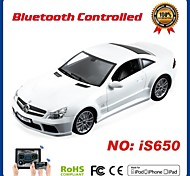 i-control de licencia de coche bluetooth benz para iPhone, iPad y Android 1:16 is650