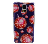 Christmas Ball Plastic Hard Back Cover for Samsung Galaxy Note 4