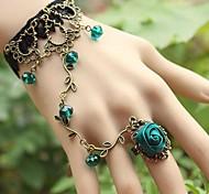 Women's Vintage Flower Vine Lace Fashion Bracelets