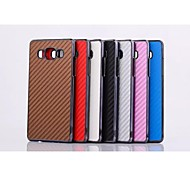 Mat Weaving Grain Pattern Plastic Cover for Motorola for Samsung Galaxy A5(Assorted Colors)