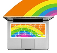 XSKN Rainbow Silicone Keyboard Protective Cover for Apple MacBook Air /MacBook Pro/MacBook Pro Retina