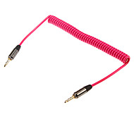 1.5m 4.92ft audio da 3,5 mm maschio cavo audio da 3,5 mm stereo maschio eXtense