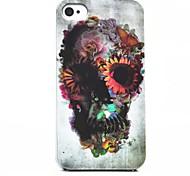 toophone® Joyland Erhualian cranio posteriore Case for iPhone 4 / 4s