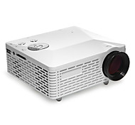Mini HD Home Super Bright LED Technology Projector 500LM , PC Laptop VGA USB SD HDMI